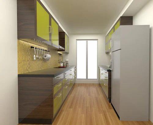 Kitchen Furnitures - Allain Single Platform Kitchen Design Service ...