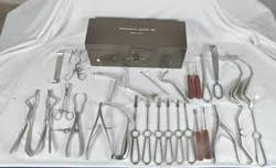 Instruments Set for Maxillofacial Bone Plating