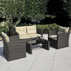 Wicker Lawn Sofa