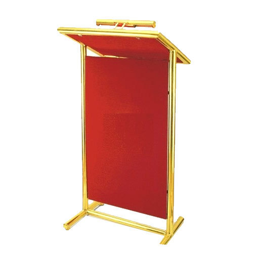 Brass Double Pole Podium
