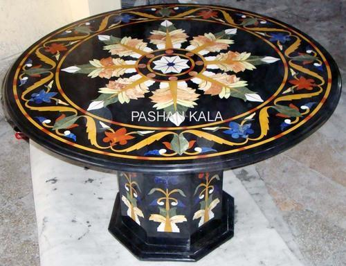 Inlay Table Tops, Marble Inlay Table Tops, Marble Table Tops, Stone Inlay  Table Tops, India