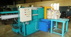 Paper Baling Press With Auto Bale Tier
