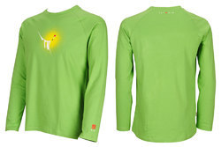 Green Full Sleeves T - Shirt