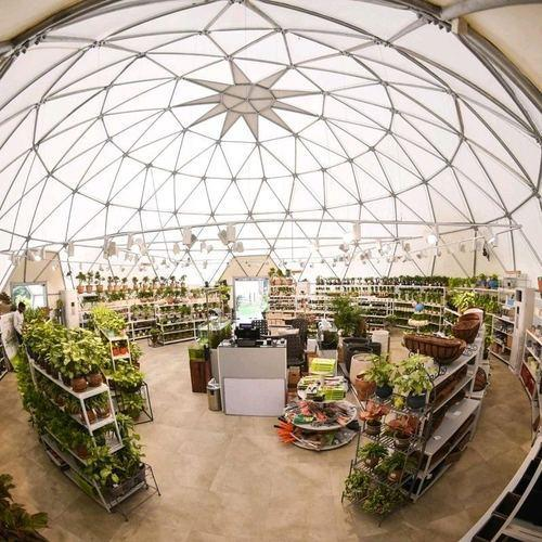 Structural Frames - Dome Space Frame Structures Service Provider ...