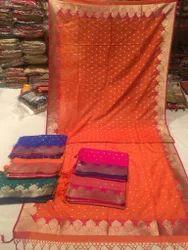 Banarasi Geogette Silk Dupatta