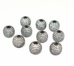 Pave Round CZ Ball Beads