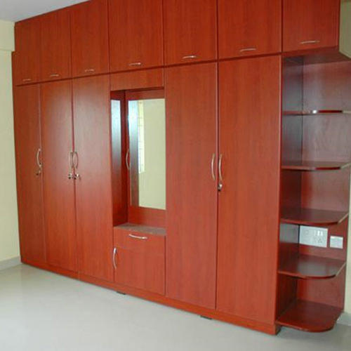 Aluminium Modular Kitchen At Rs 1100 Square Feet: Wooden Modular Almirah Manufacturer From