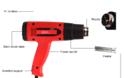 Siron Hot Air Gun 6618