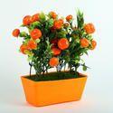 Orange Artificial Fruit Plant