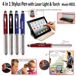 4 in 1 Stylus Pen with Laser Light