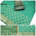 Designer Kanjivaram Weaving Saree With Blouse