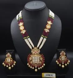 Antique Kundan P.set