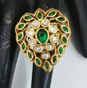 Antique Kundan Finger Ring