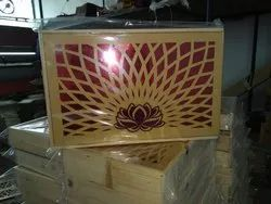 Natural Wood Dry Fruit Box