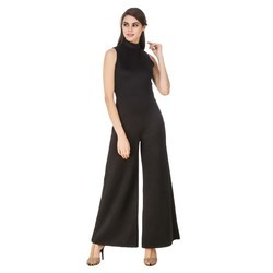 Black Designer Jumpsuit Dress