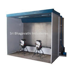 Automotive Parts Spray Paint Booth