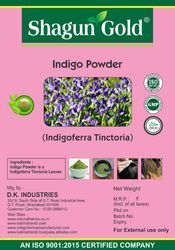 Natural Indigo Hair Color Powder (Dye Your Hair Black)