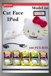 CAT FACE MP3 PLAYER