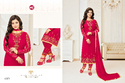 Pink Georgette Heavy Embroidered Women's Salwar Suit