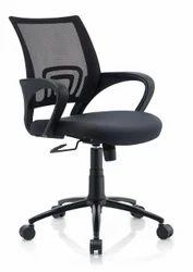 Nano Ergonomic Chair in Black Color by Oblique