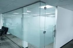 Designer Glass - Office Glass Partition Wholesale Trader
