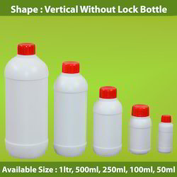 HDPE Vertical Without Lock Bottle