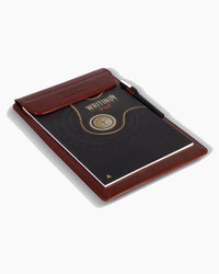 Leather Postcard Note Pad