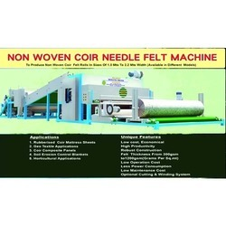 Coir Needle Felt Machine