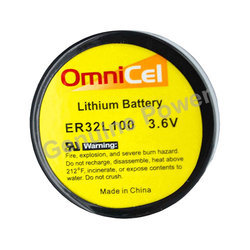 Omnicel ER32L100 Lithium Thionyl Chloride (Li-SOCI2) Battery
