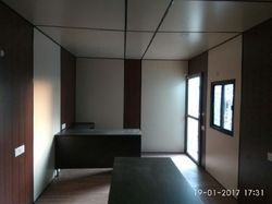 Office Container - Portable Site Office Manufacturer from Panipat