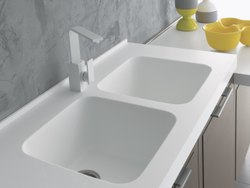 Corian Kitchen Sinks
