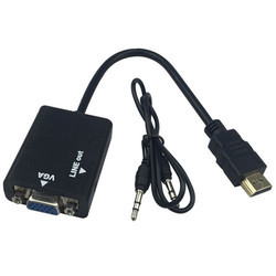 HDMI TO VGA Converter with Audio for Raspberry pi