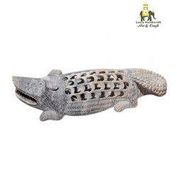 Stone Crocodile Statue