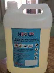 Sodium Hypoclorite Disinfectant