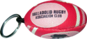 Rugby Ball Keyring