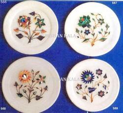 Marble Home Decoration Plates