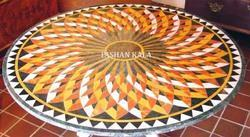 Makrana Stone Inlaid Table Top
