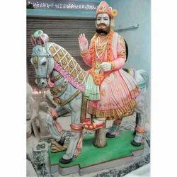 Baba Ram Dev Marble Statues