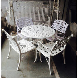 Aluminum Designer Chair