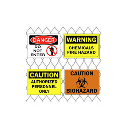 Caution Signage's (Non Metal And Metal )