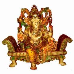 Resin Sofa Set Ganesha Statue