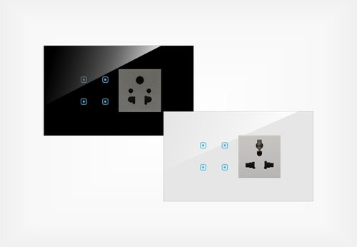 Touch Switch Board - Touch Four Switch 5 Pin Socket Manufacturer ...