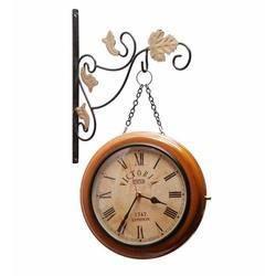 Brass Hanging Clock