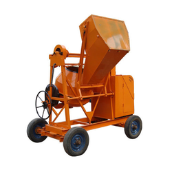 Concrete Mixer with Hopper Heavy Duty