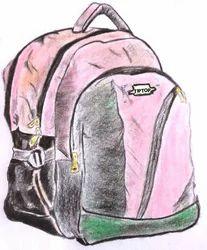 3 Zip School Bag