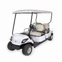 Red Golf Club Cart