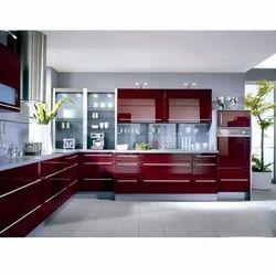 High Gloss Acrylic Kitchen