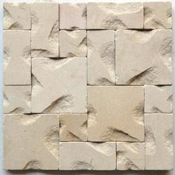White Mint Sandstone wall Mosaic tiles / Cladding tiles