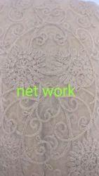 Net Work Dress Material