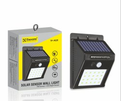 Troops TP-9025 Solar Sensor Wall Light